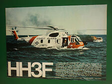 9/1973 PUB GIOVANNI AGUSTA GALLARATE HH3F SIKORSKY US COAST GUARD SAR FRENCH AD
