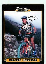 Erwin BAKKER, Autographe manuscrit. cyclisme. Cross Country Team B1