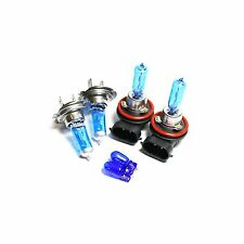 H9 H7 501 55w Super White Xenon HID Upgrade High/Low/Side Light Beam Bulbs