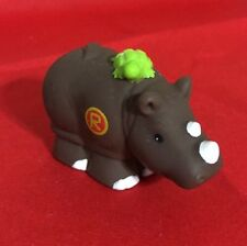 Little People Alphabet ABC LEARNING Animal Zoo Replacement Piece Rhino