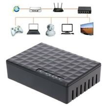 Mini 5Port Desktop Gigabit Switch Fast Ethernet Network LAN Hub 1000Mbps EU plug