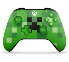 Official Microsoft Xbox One Minecraft Creeper Controller - Green