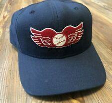 VTG 80s 🔥RARE Rochester Red Wings New Era Dupont Visor Baseball Hat Snapback