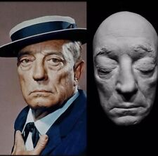 "Buster Keaton Life Mask Cast ""The Great Stone Face""1920's Comedic Actor Rare !"