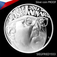 Czech Silver Coin PROOF (2017) - Josef Kainar - 200 CZK