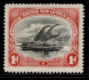 AUSTRALIA - Papua EDVII SG2, 1d black & carmine, M MINT. Cat £20.