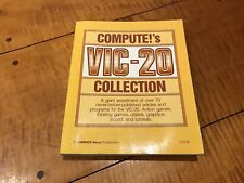 Compute!'s VIC -20 Games Programs Tutorial Sound Graphics Commodore 1985 1st Ed.