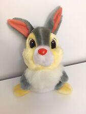 WALT Disney Store Autentico esclusivo Coniglio Bambi Tamburino Giocattolo morbido CONIGLIO