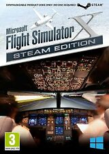 Microsoft Flight Simulator X Steam Edition - PC - New & Sealed - FREE DELIVERY
