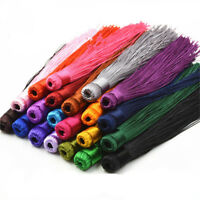 "Lot of 10PCS 12CM (4.72"") Satin Silky Tassels - Crafts Sewing Decoration Costume"