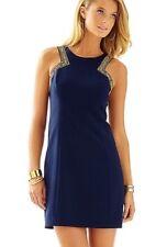 NWT Lilly Pulitzer Largo Dress True Navy sz 10 $268