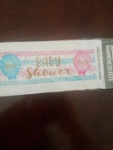 Part Banner Baby Shower Boy? Girl? Gender Reveal