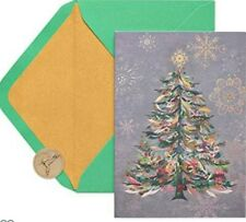 Papyrus Christmas Cards Boxed, Festive Holiday Tree (14-Count)