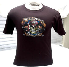 Harley Davidson Pirate Youth Size- Large Tee Orlando Florida Shirt 25 x 18