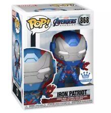 Funko POP! Avengers Endgame: Iron Patriot #868 Funko Shop Exclusive - CONFIRMED