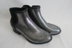 Sorel Women's Boot Size 9.5 US Janey Chelsea Metallic NWB  Pull On Booty Rubber