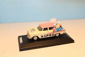 SIMCA MARLY BREAK PUB ASPRO style caravane du Tour de France 1/43
