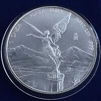 Mexico 2012-Mo Silver 1 Onza Libertad Mexican Bullion Coin Mexico