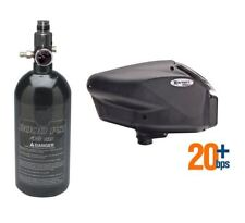 Empire Halo Too Hopper with Tippmann 48/3000 Hpa Compressed Air Tank Black