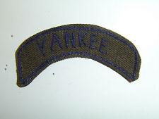 b1832 WW2 US Army 26th Infantry Division Yankee Tab on original EM OD wool A6B4