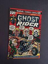 Ghost Rider 6 Raw 9.6 Bronze Age Marvel Comic I.G.K.C L@@K