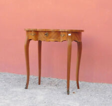 Tavolino toilette a 'fagiolo' in bois de rose, intarsiata, metà '900!