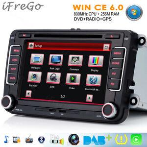 DVD GPS NAVIGATION für VW GOLF PASSAT B6 TIGUAN TOURAN POLO Caddy EOS Autoradio