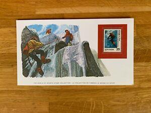 INDIA 1978 CARD MNH SPORTS MOUNTAIN CLIMBING KANCHENJUNGA # RARE #