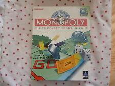 Vintage Monopoly PC CD-ROM Game Original Big Box New