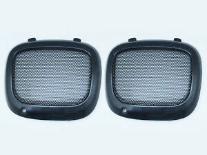 JDM Bumper Fog Lights Lamp Mesh Cover For 2002-2003 Subaru Impreza WRX STI BUGEY