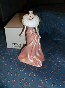 Danbury Mint Classic Barbie Figurine Enchanted Evening 6 Inch High w/Box  No COA