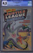 Brave and the Bold #28 DC 1960 1st appearance Justice League of America(CGC 4.5)
