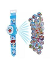 20 Image Doraemon Cat Doll Figure Projector Projection Light Wrist Watch Toy