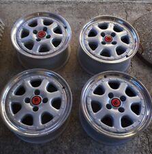 """Bbs Bugatti 2 piece  wheels rims 15"""" golf jetta mk1 mk2 bmw e30 corrado scirocco"""