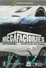 Megafactories Euro Performance New but UNSEALED 2-DVD Set Region 4