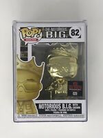 Funko Pop! Notorious BIG Gold Chrome Toy Tokyo Exclusive 2020