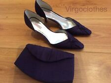 Jacques Vert Bramble gamme violet/prune Chaussures & sac à main, Occasion Chaussures, 7