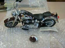 HARLEY DAVIDSON 1998 FAT BOY 95TH  ANNIVERSARY EDITION FRANKLIN MINT