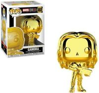 Marvel Studios The First Ten Years Gold Chrome Gamora Funko Pop Vinyl