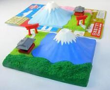 Iwako Fuji Mountain and Shrine in Summer  (Green) Japanese Erasers set from Japa