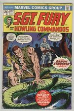 Sgt. Fury and His Howling Commandos #112 July 1973 G/VG