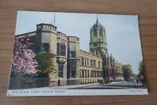The Tower Christ Church Oxford Salmons CAMERACOLOUR Postcard 833c