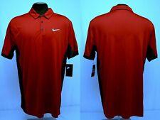 Nike men's $80 SIDELINE Performance Polo Shirt Alabama CRIMSON-GRAY size XL #23