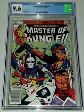 MASTER OF KUNG FU #115 CGC 9.6 WHITE PAGES DEATH DEALER MARVEL AUGUST 1982 (SA)