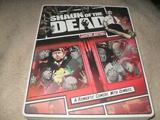 Shaun of the Dead (2004) Limited Edition 2-Disc LIKE NEW Steelbook Blu-ray