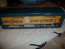 Scania deutsche post euro Express camión de Lion Toys 1:50 nuevo + embalaje original