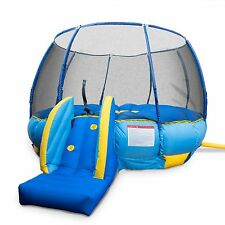 BouncePro 16-foot Superdome Trampoline and Bouncer Inflated Air Bounce House