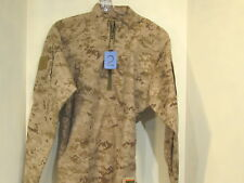 US MILITARY USMC DESERT MARPAT INCLEMENT WEATHER COMBAT SHIRT SMALL REGULAR
