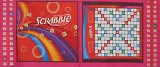SCRABBLE Board Game Night Family Letter Tiles Cotton Craft Fabric By The Panel