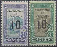 France Colony Tunisia N°115 + N°116 - New with Original Gum - Value